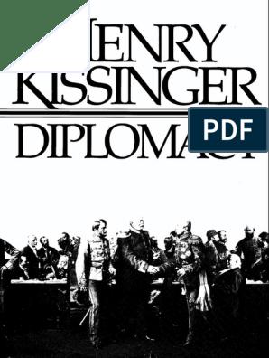 Henry Kissinger-Diplomacy pdf
