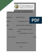 Informe - Museo Tumbas Reales Señor de Sipan