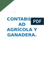 Contabilidad Agrícola y Ganadera