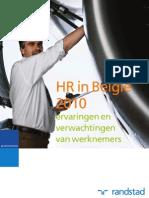 Arbeidsmarktstudie Randstad 2010