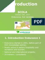 Introduction Endurance NL