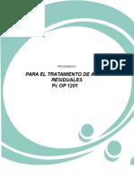 Pc OP 1201 Para El Tratamiento de Aguas Residuales