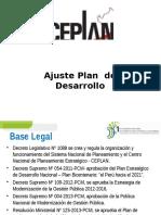 Expo 03 - Ajuste Del PDC CEPLAN