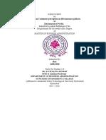 Bala ( Astudy on Customer Perception Towards Life Insurance Policies)