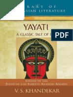 Yayati_ a Classic Tale of Lust - Khandekar, V S