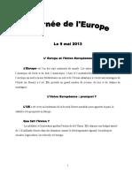 Journee de L'Europe
