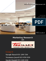 Texmart Research Presentation