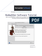 ReMaDDer Software Tutorial (v2.0) - Fuzzy Match Record Linkage And Data Deduplication