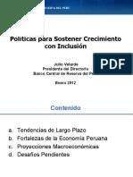 Políticas crecimiento con inclusion