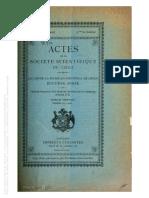 La Relijion en Los Pueblos Primitivos El Culto de La Piedra (Cañas Pinochet, 1902)
