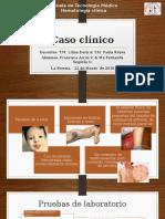 Caso Clínico Hematóloga