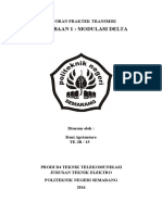Job 1 Delta Modulation_Roni Apriantoro