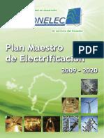 Plan Maestro de Electrificacion