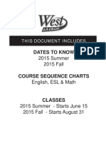 West LA College - 9.1 2015 Summer & 9.2 2015 Fall - Schedule