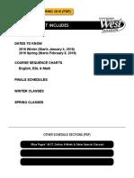 West LA College - Schedule
