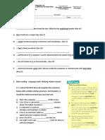 Exercícios de Inglês - Relative Pronouns-Inside the System