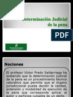 Determinación Juidicial de La Pena