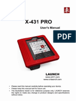X-431 Pro User Manual