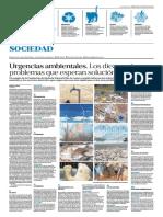 Urgencias Ambientales en Argentina