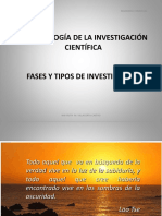 Fases y Tipos de Investigación 1