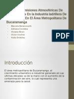 Inventario Emisiones Atmosféricas de Fuentes Fijas en La