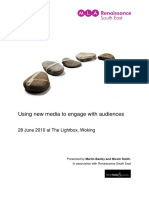 Using New Media to Engage With Audiences Handbook (for museums)