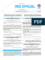 Diario oficial de Colombia n° 49.863. 04 de mayo de 2016