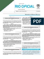 Diario oficial de Colombia n° 49.864. 05 de mayo de 2016