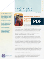 Pro Life Campaign Newsletter - Birthright Spring 2004