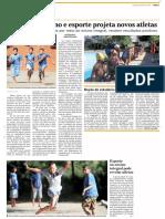 Integração entre ensino e esporte projeta atletas em potencial