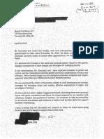 Therapist Letter - Ghomeshi
