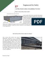 Pour in Dock Leveler Benefits Elevadores Proceso Constructivo