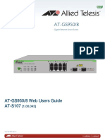 Aliied Telesis GS950 8