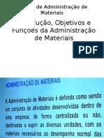 Noções de Administração de MateriaisII