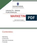 Unidad IV. 1 Áreas Funcionales - Marketing