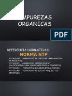 IMPUREZAS-ORGANICAS