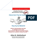 Clients Dont Pay for Coaching - RCM PDF Version 2016