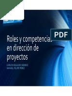 Ponencia Pmi Mad Roles y Competecias Dp 24abril