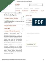 NETGEAR WiFi Modem _ Guide for Router Configuration