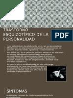 Trastorno Esquizotípico de La Personalidad