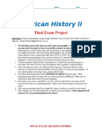 american history ii final exam project document 97-2003 version  1