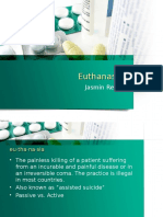 Current Event Euthanasia