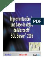1.- Introduccion a Transact-SQL 2005