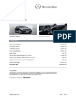 E 220 d Mercedes Fact Sheet