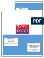 Strategic Acquisition of loop mobiles by Airtel