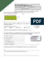 Ficha  Volumes