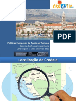 Politicas Euripeias de Apoio Ao Turismo Croácia