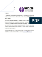 Base de Datos Másteres en España