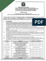 Edital Nº13-2016 - PS 2016.2 ENEM 2015 - Subsequente