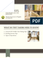 ITP TOEFL_Reading Section
